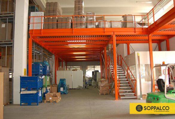 soppalchi industriali magazzini