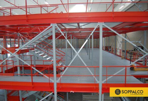 soppalchi industriali magazzini multipiano